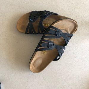 Birkenstock's women's Granada sandal, size 39, EUC